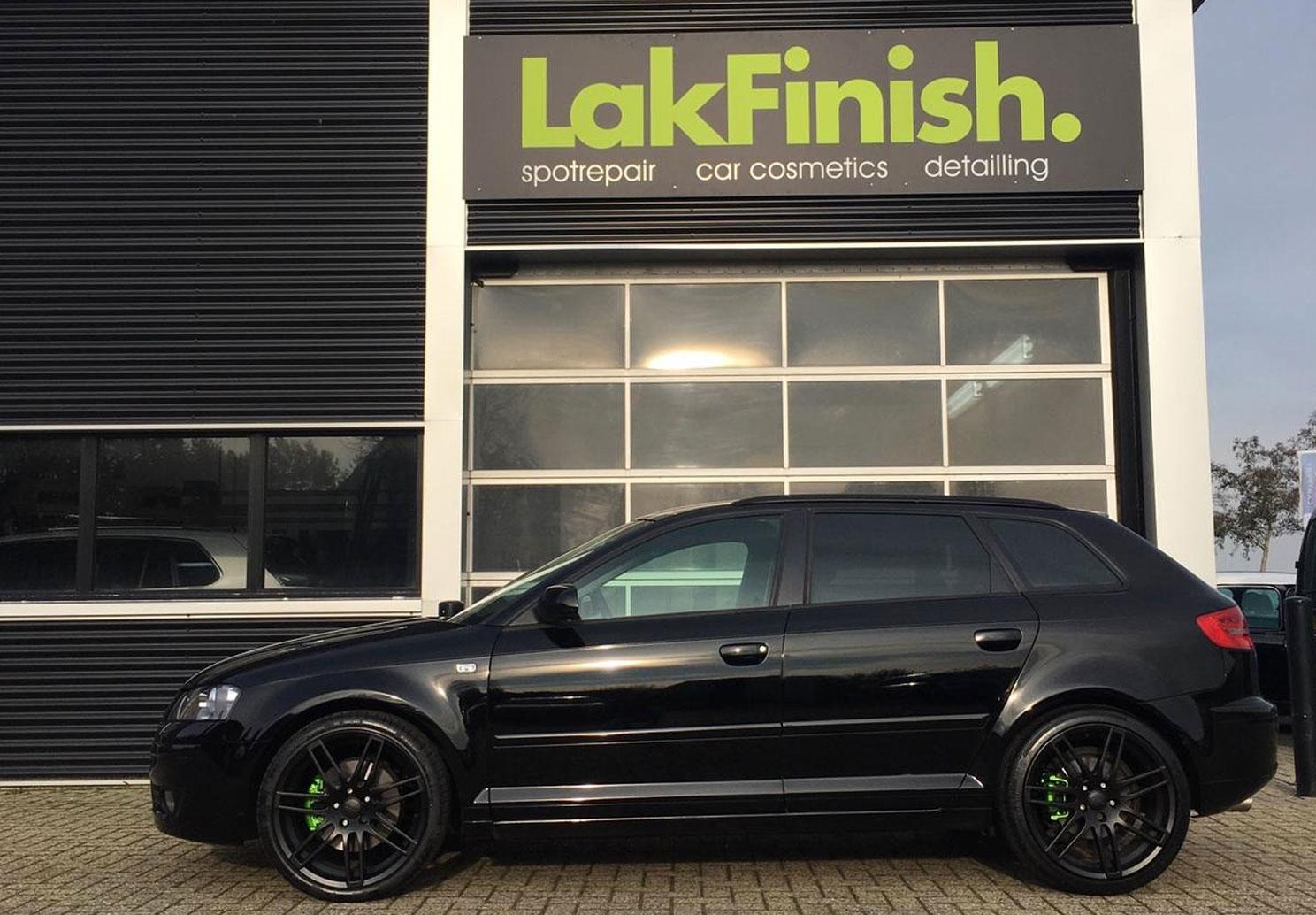 Lakcorrectie, velgen en remklauwen spuiten en glascoating Audi A3